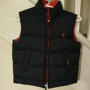 Ralph Lauren reversible vest  8-10
